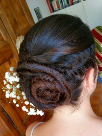 braid boho coiffure mariage tresse
