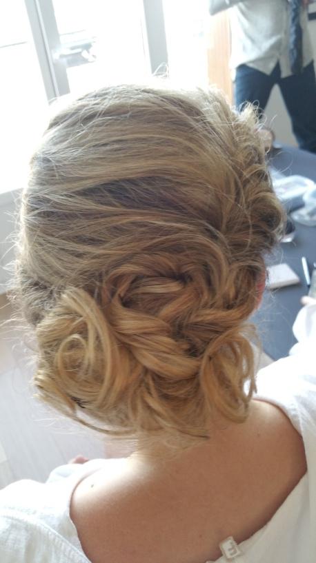 messy braid coiffure mariage